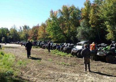 Leech Lake Ride break during the 2016 Fall Fun Run 2