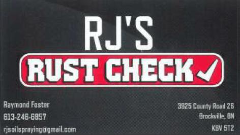 RJ's Rust Check